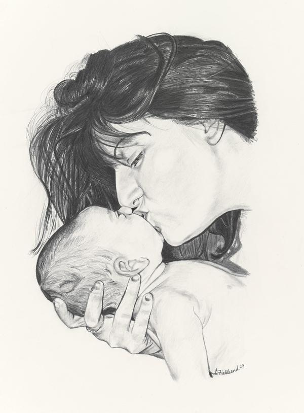 Mother-childbyG.Fieldsend'03