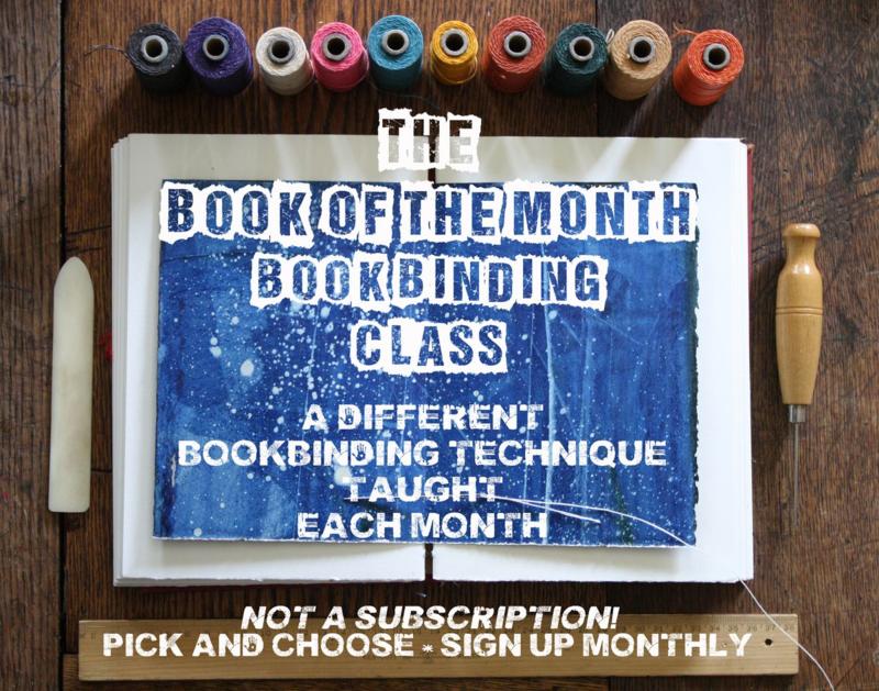 LK'sBookoftheMonthBookbindingClass