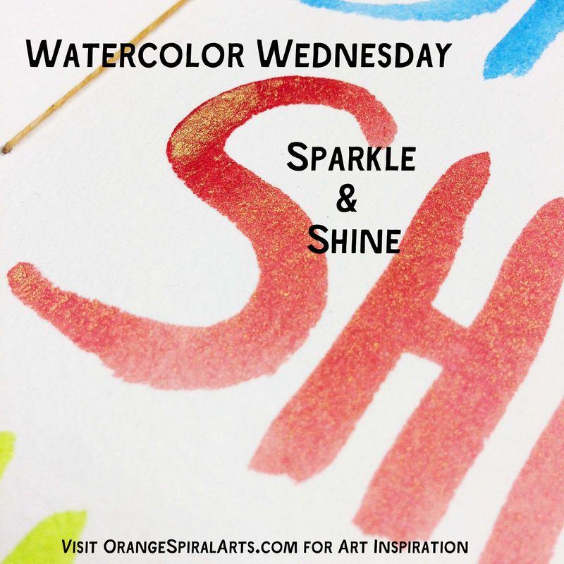 WatercolorWednesdaySparkleBadge