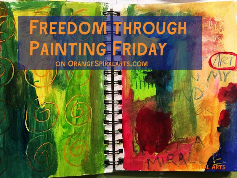 OrangeSpiralArts-FreedomthroughPaintingFriday22