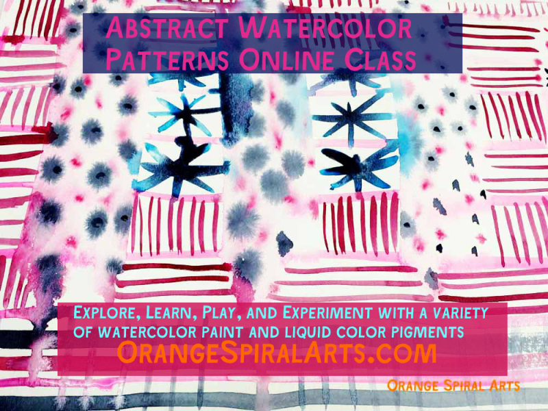 AbstractWatercolorPatternsClass