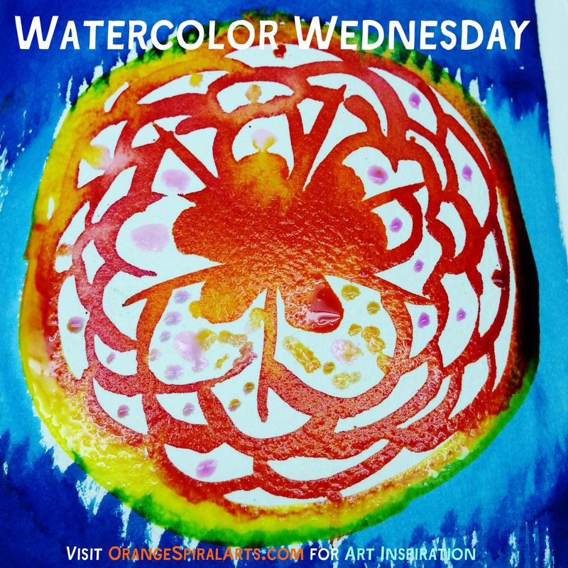BadgeWeek8WatercolorWednesday