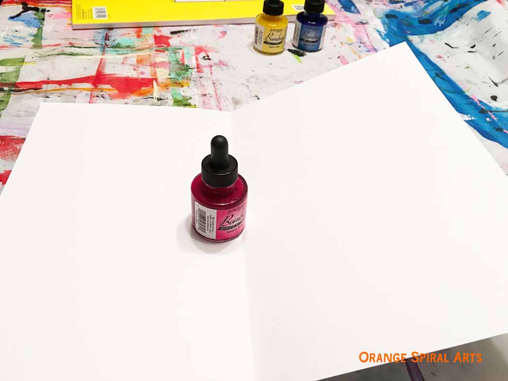How to use bottled india ink?