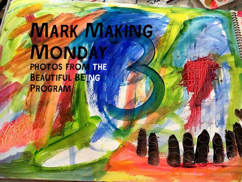 OrangeSpiralArts-MarkMakingMonday-BeautifulBEingProgram