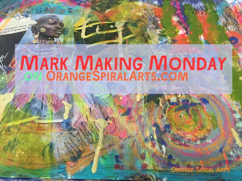OrangeSpiralArts-MarkMakingMonday
