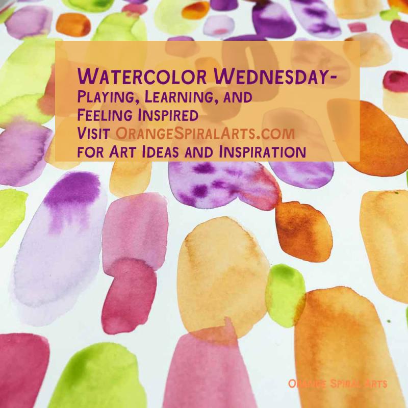 OrangeSpiralArts-WatercolorWednesdayOct.12'16