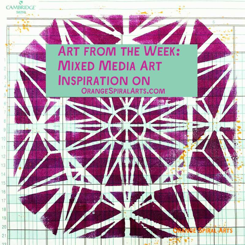 OrangeSpiralArts-ArtfromtheWeek