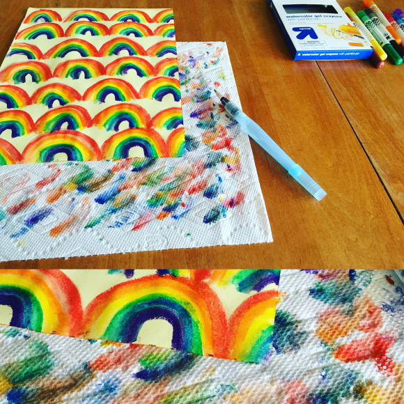 Watercolor Gel Crayons from Target