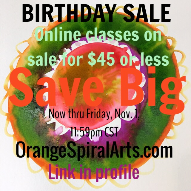BirthdaySale$45onlineclasses